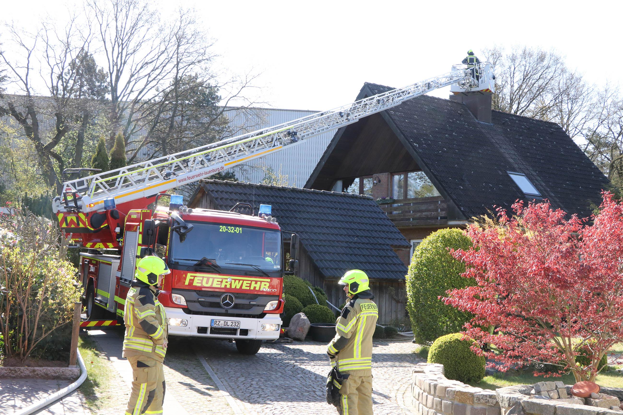 Brand Lauenburg